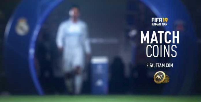 Prémios de Moedas de Jogo em FIFA 19 Ultimate Team