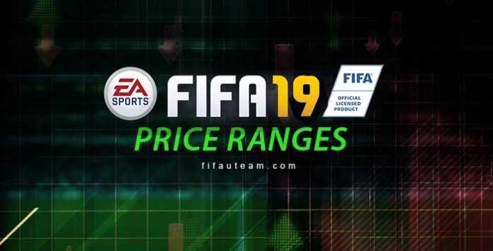Guia dos Price Ranges para FIFA 19 Ultimate Team
