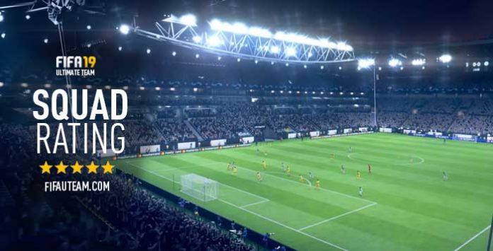 Guia do Rating da Equipa para FIFA 19 Ultimate Team