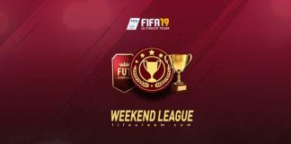 Calendário da Weekend League para FIFA 19 Ultimate Team