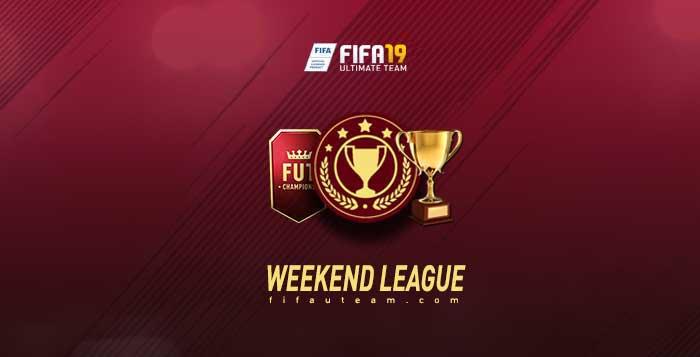 Calendário da Weekend League para FIFA 19 Ultimate Team