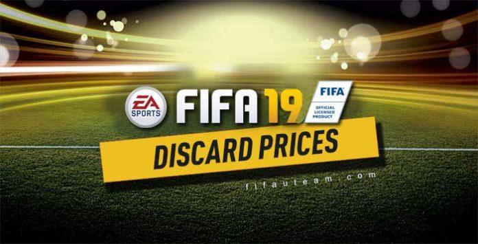 Preços de Venda Rápida das Cartas de FIFA 19 Ultimate Team
