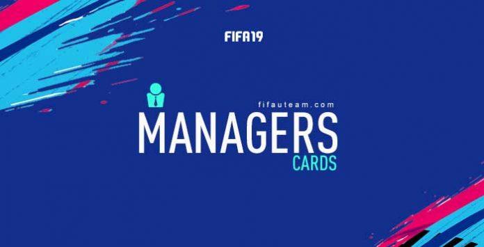 Guia de Cartas de Managers para FIFA 19 Ultimate Team