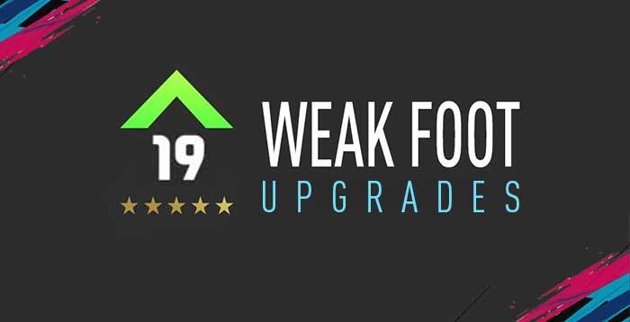 Guia dos Upgrades do Weak Foot para FIFA 19 Ultimate Team