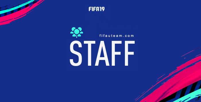 Guia de Cartas de Staff para FIFA 19 Ultimate Team