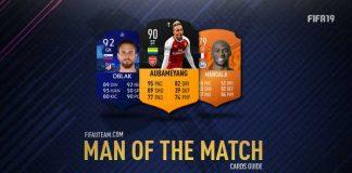 Guia de Cartas Homens do Jogo de FIFA 19 Ultimate Team