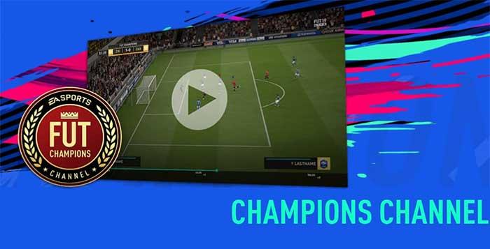 Guia do FUT Champions Channel para FIFA 19 Ultimate Team