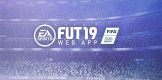 FUT 19 Web App já está Online !