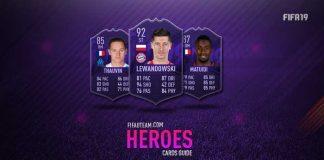 Guia de Cartas de Heróis para FIFA 19 Ultimate Team