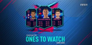 Guia das Cartas OTW de FIFA 19 Ultimate Team