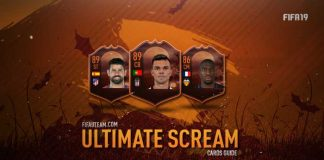 Guia das Cartas Ultimate Scream para FIFA 19 Ultimate Team