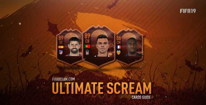 Guia das Cartas Ultimate Scream para FIFA 19 Ultimate Team