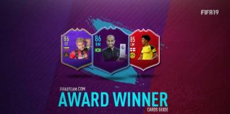 Guia de Cartas Award Winner para FIFA 19 Ultimate Team