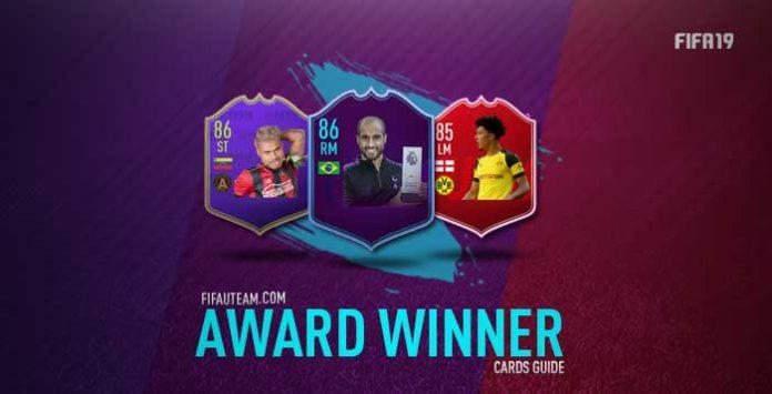 Guia de Cartas Award Winner para FIFA 19 Ultimate Team