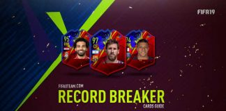 Guia de Cartas de Recordistas de FIFA 19 Ultimate Team