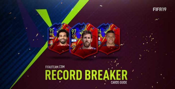Guia de Cartas de Recordistas de FIFA 19 Ultimate Team