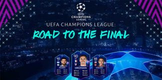 Cartas Dinâmicas da UEFA Champions League