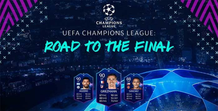 Cartas Dinâmicas da UEFA Champions League