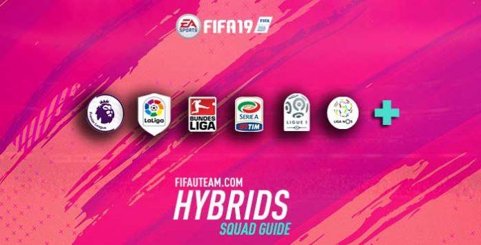 Guia das Equipas Híbridas para FIFA 19 Ultimate Team