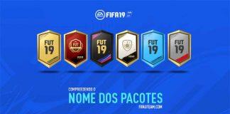 Compreendendo o Nome dos Pacotes de FIFA 19 Ultimate Team