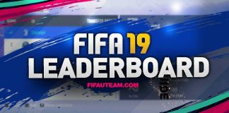 O Leaderboard de FIFA 19 Ultimate Team