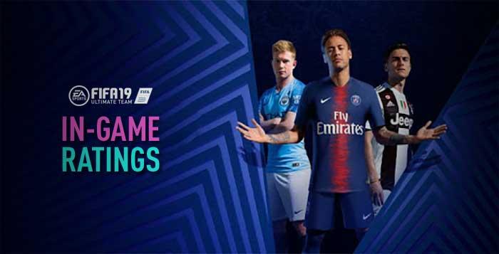Toda a Verdade Sobre os In-Game Ratings de FIFA 19 Ultimate Team