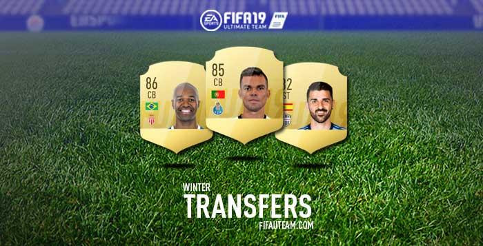 Lista Completa de Transferências de Inverno de FIFA 19