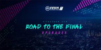 Upgrades das Cartas RTTF de FIFA 19 Ultimate Team