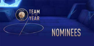 Lista de Jogadores Nomeados à Equipa do Ano de FIFA 19