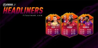 Evento Headliners para FIFA 19 Ultimate Team
