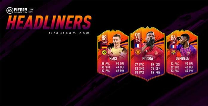 Evento Headliners para FIFA 19 Ultimate Team