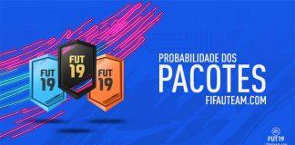 Probabilidade dos Pacotes em FIFA 19 Ultimate Team