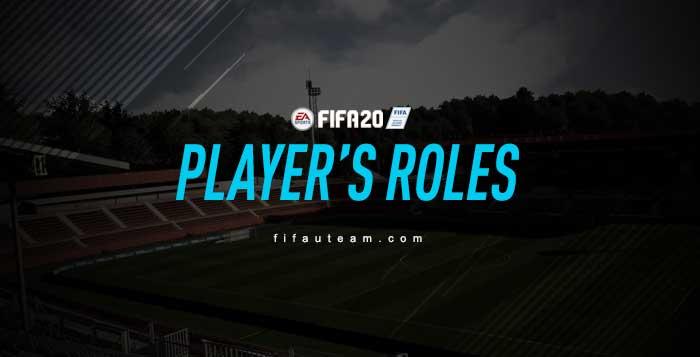Papéis dos Jogadores em FIFA 20 Ultimate Team