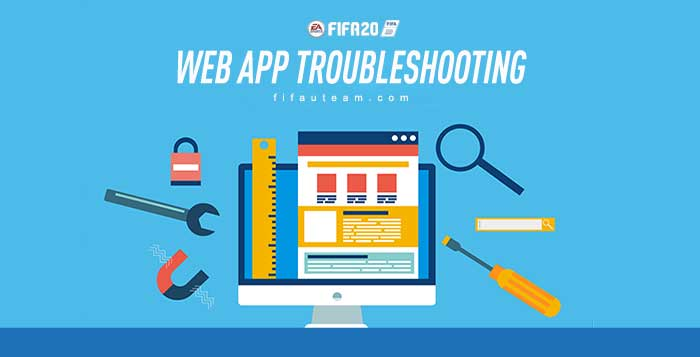 Guia de Resolução de Problemas Mais Comuns da FUT 20 Web App