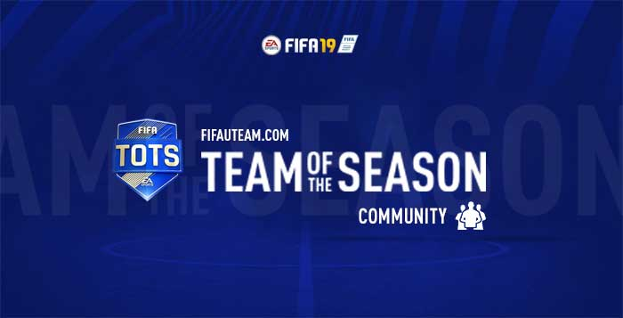 TOTS da Comunidade para FIFA 19 Ultimate Team