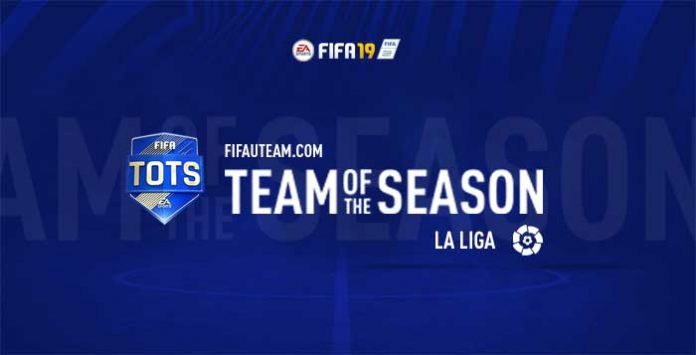 TOTS da LaLiga para FIFA 19 Ultimate Team