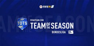 TOTS da Bundesliga para FIFA 19 Ultimate Team
