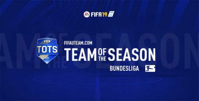 TOTS da Bundesliga para FIFA 19 Ultimate Team
