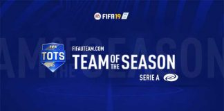 TOTS da Serie A para FIFA 19 Ultimate Team