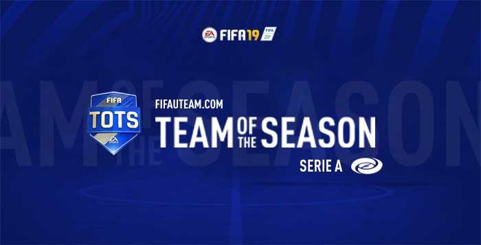 TOTS da Serie A para FIFA 19 Ultimate Team