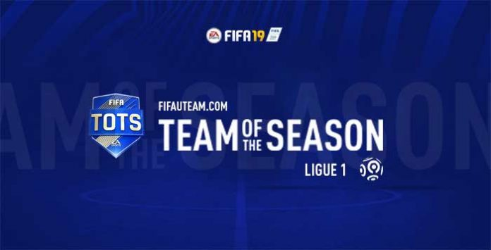 TOTS da Ligue 1 para FIFA 19 Ultimate Team
