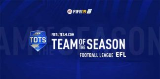 TOTS da Football League para FIFA 19 Ultimate Team