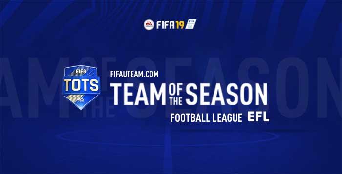 TOTS da Football League para FIFA 19 Ultimate Team