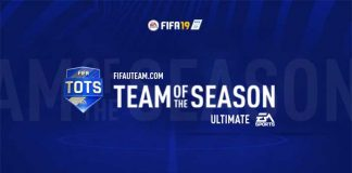 TOTS da EA Sports para FIFA 19 Ultimate Team