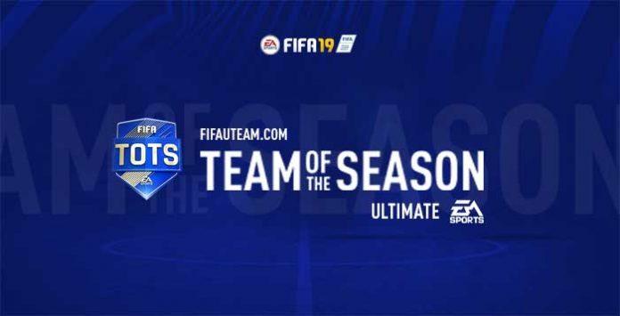 TOTS da EA Sports para FIFA 19 Ultimate Team