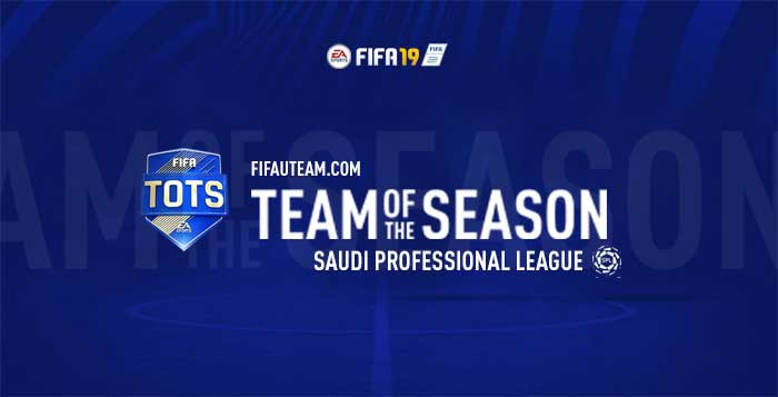 TOTS da Saudi Professional League para FIFA 19 Ultimate Team