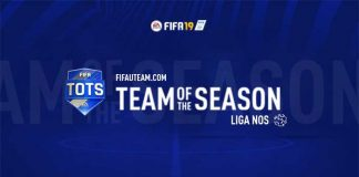 TOTS da Liga NOS para FIFA 19 Ultimate Team