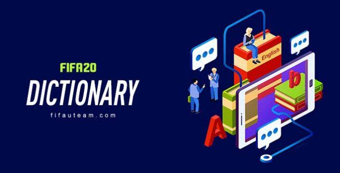 Dicionário de FIFA 20 Ultimate Team
