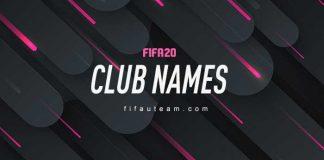 Nomes de Clubes para usar em FIFA 20