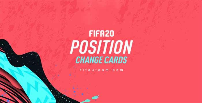 Cartas de Mudança de Posição para FIFA 20